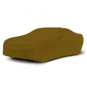 2010-2016 Satin Stretch Indoor Camaro Car Cover - Gold