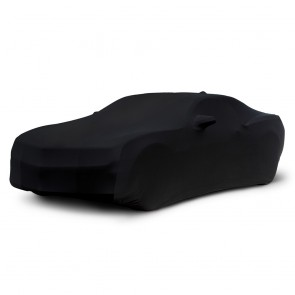 2010-2018 Satin Stretch Indoor Camaro Car Cover - Black