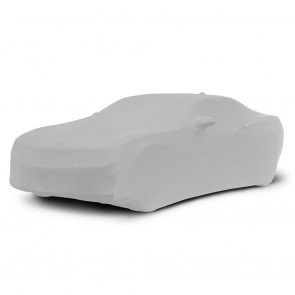 2010-2016 Satin Stretch Indoor Camaro Car Cover - Gray