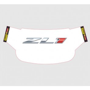 Camaro Windshield Wrap - ZL1 White