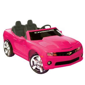 Motorized Camaro Ride-On - Pink