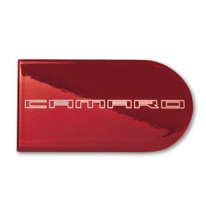 Camaro Color-Matched Ignition Key Plate Cover - Camaro Logo