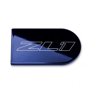 Camaro Color-Matched Ignition Plate Covers - ZL1 Logo