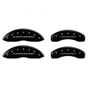 2010-2015 Camaro Logo - SS Caliper Covers (Black)