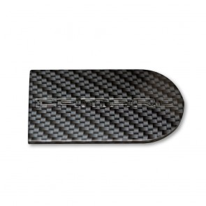 Camaro OEM Ignition Key Plate Cover with Carbon Fiber Finish - Camaro Logo