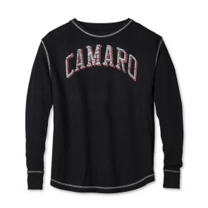 Camaro Vintage Thermal - Black