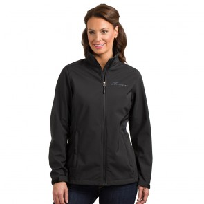 Camaro Ladies Soft Shell Jacket - Black
