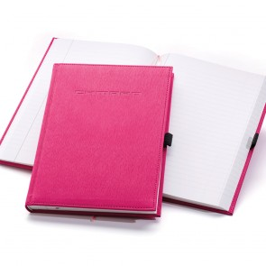 Debossed Camaro Pink Journal
