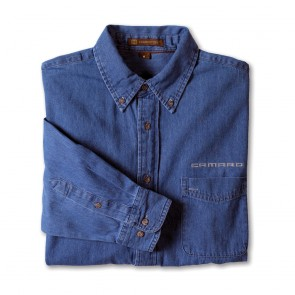 Camaro Signature Denim Shirt | Denim Blue