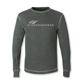 Camaro Vintage Thermal - Charcoal/Heather