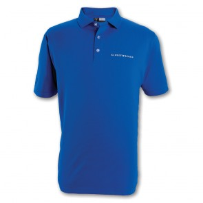 Callaway Textured Polo - Magnetic Blue