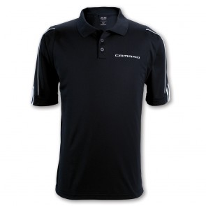 Camaro Performance Polo | Black/White