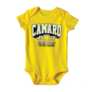 Camaro Future Driver Onesie | Yellow