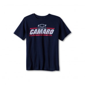 Chevrolet Camaro Youth Tee | Navy
