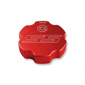 Gen-6 Camaro Brake Fluid Cap Cover - SS Logo