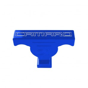 Gen-6 Camaro Oil Dip Stick Handle Cover - RS Logo