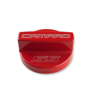 Gen-6 Camaro Oil Fill Cap Cover - SS Logo