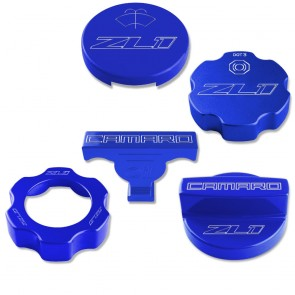 Gen-6 Camaro Under Hood Cap Cover Kit - ZL1 Logo