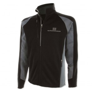 Full-Zip Performance Jacket - Black/Gray Storm