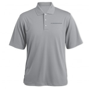 Camaro Signature Polo - Gray Heather