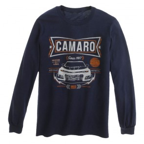 American Heritage Long Sleeve Tee - Navy