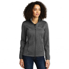 Eddie Bauer® Ladies Soft Shell Jacket - Black Heather