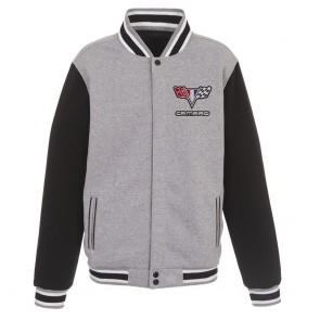 Camaro Two-Way Varsity Jacket | Gray/Black