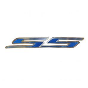 Camaro Carbon Fiber Hood Panel Emblem- SS (2010-2013)