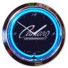 Camaro Script By Chevrolet Neon Clock