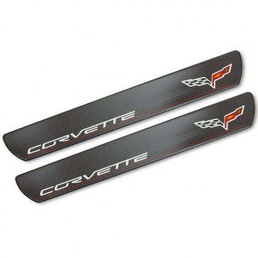 Corvette C6 Carbon Fiber Doorsill Plates