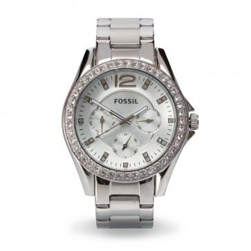 Ladies Crystal-Like Watch By Fossil