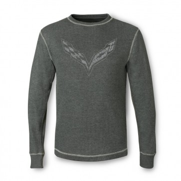 Vintage Corvette Thermal - Charcoal Heather
