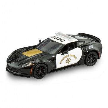 1:24 Scale Corvette Z06 Highway Patrol
