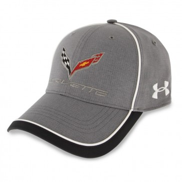 Under Armour Stingray Fitted Cap - Graphite/White