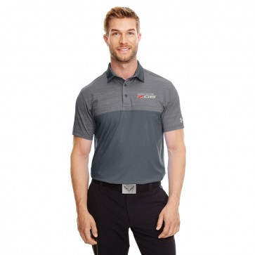 Under Armour® Z06 Polo | Rhino Gray/Steel