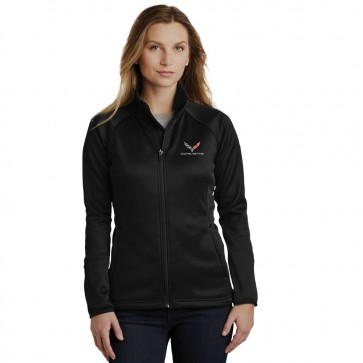 North Face® Corvette Fleece Jacket - Black