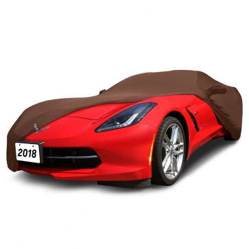 C7 Stingray Coupe | Indoor Cover - Khalari Tan
