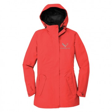 Ladies Outer Shell Jacket | Red Pepper