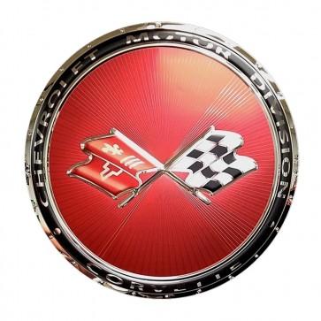 Corvette C3 Emblem Sign   1968 - 1982