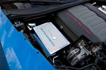 2014-2015 Stingray Fuse Box Cover (Carbon Fiber Inlay)