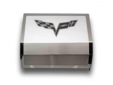 Corvette C6 Fuse Box Cover (Carbon Fiber Inlay)