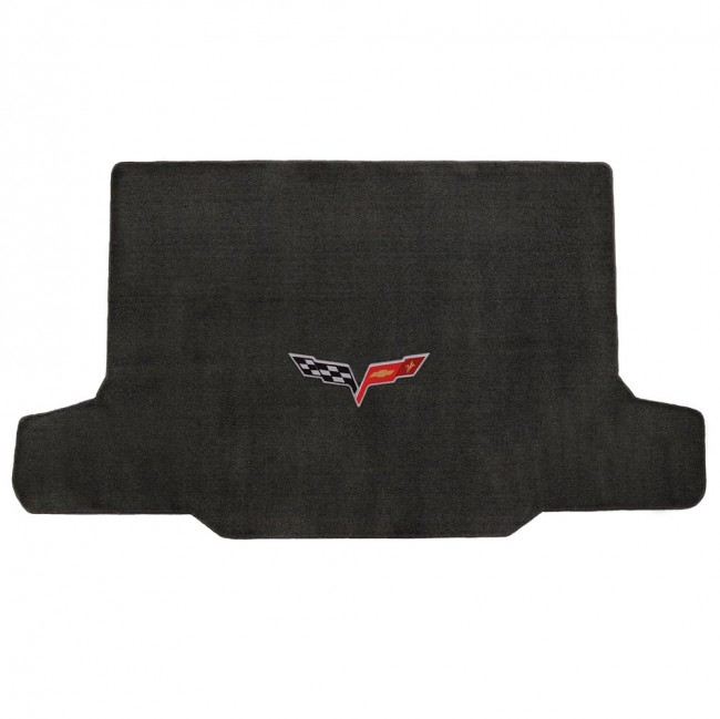 corvette 20052013 convertible cargo mat ebony velourtex