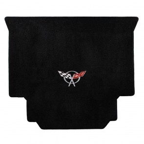 Corvette 1999-2004 Hardtop Cargo Mat Black Ultimat C5 Logo