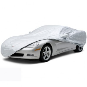 Silverguard Plus Outdoor Corvette C6 Cover- Silver