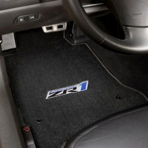 ZR1 2 PC. Floor Mat Set - Ebony 2007.5 - 2013.5