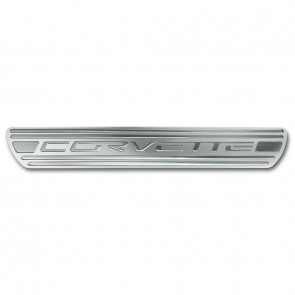 Corvette Doorsill Plates -Chrome