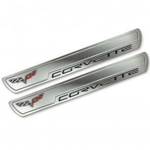 Corvette C6 Chrome Doorsill Plates
