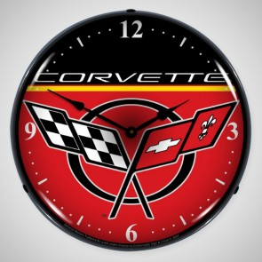 Corvette C5 Lighted Clock