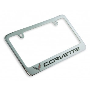 Corvette Next Generation Chrome License Frame