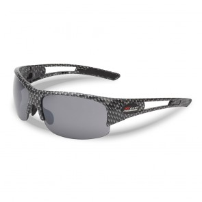 C7/Z06 Supercharged Carbon Fiber Pattern Rimless Sunglasses